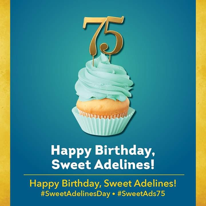 Happy 75th Birthday to Sweet Adelines