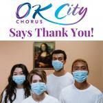 OK City Chorus Says Thank You!
